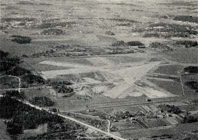 The land airport of Helsinki, where air traffic has been moved beginning 16 December 1936.